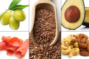 Healthy fat foods & oils